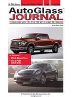 Auto Glass Journal